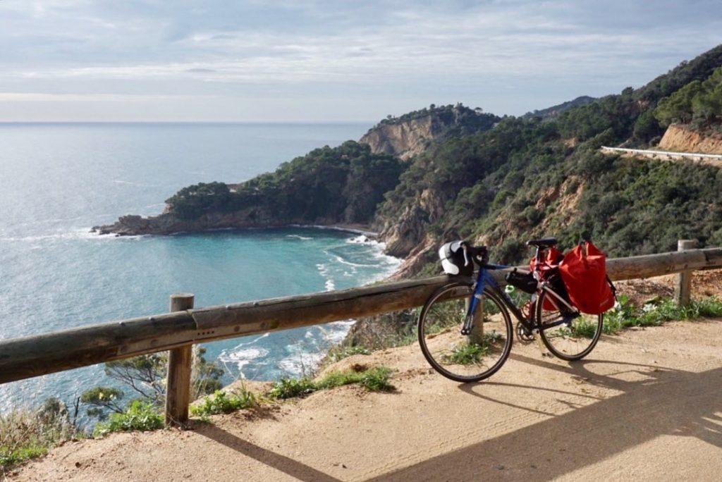 In bici in Costa Brava