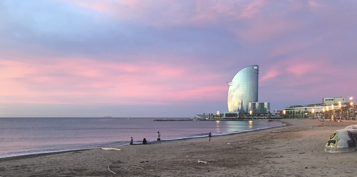 Alba a Barcellona
